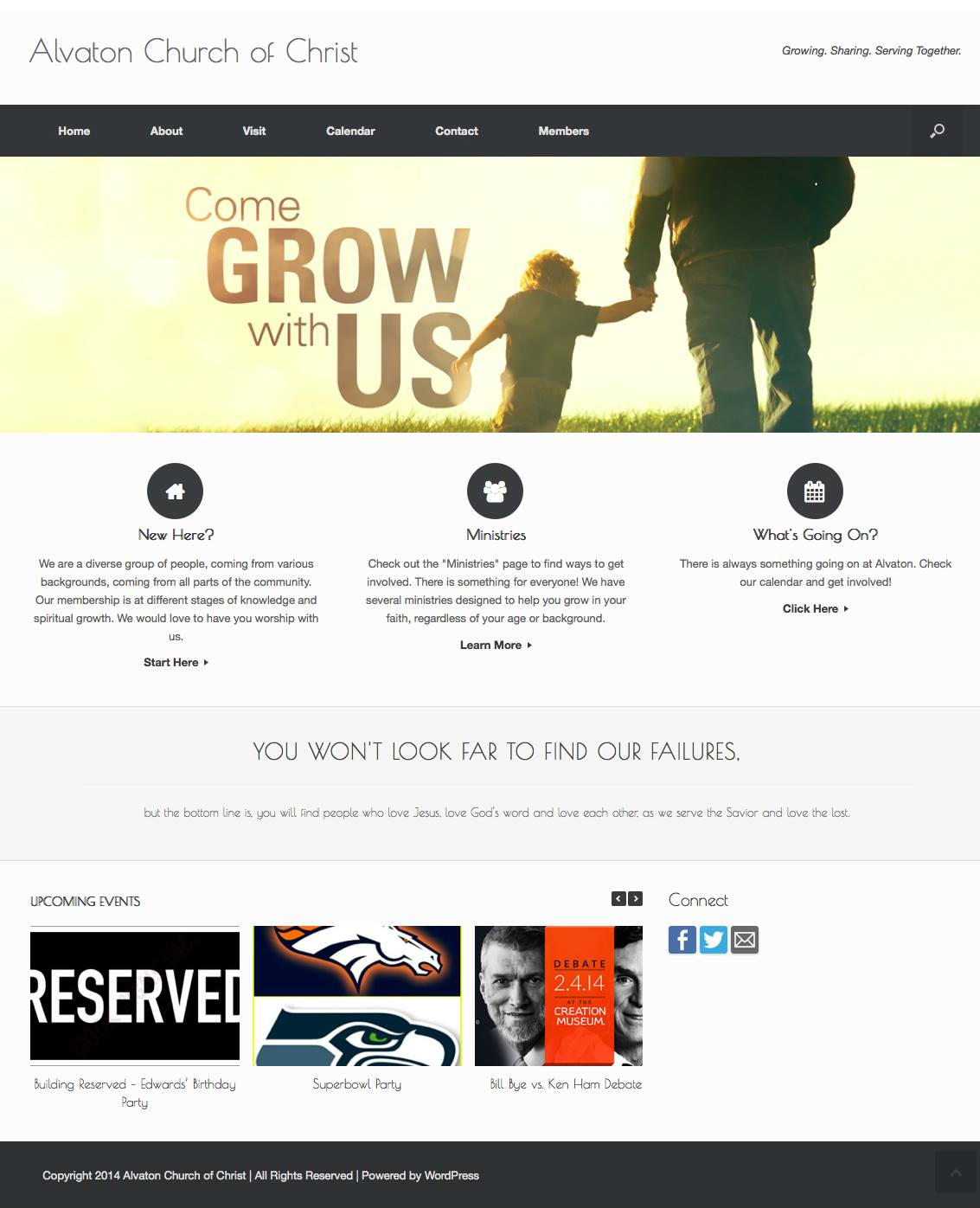 Website Redesign Client:  Alvaton Church of Christ